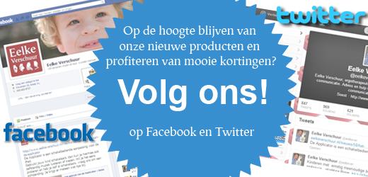 EV Volg ons op Facebook en Twitter