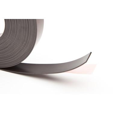25,4 mm br zelfklevend magneetband 1 m