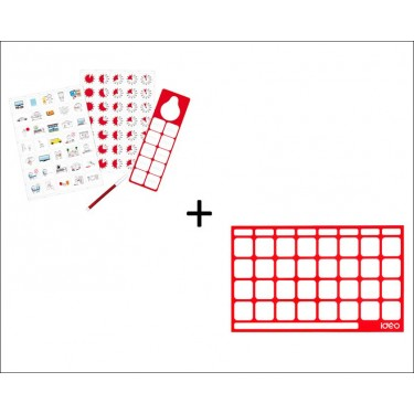Voordeelpakket Magnetic Pictogram Kit + Board
