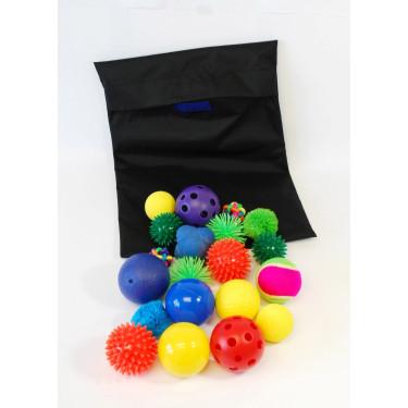 Tastballen in zak