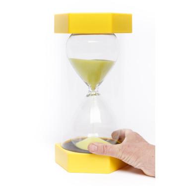 Zandloper Giga 3 minuten geel