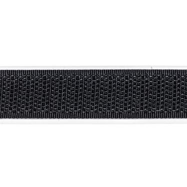 Zelfklevend Klittenband 16 mm haak zwart