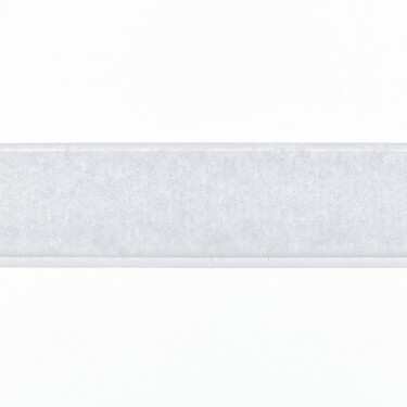 Zelfklevend Klittenband 16 mm lus wit