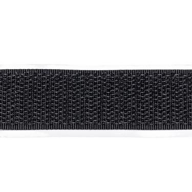 Zelfklevend Klittenband 20 mm haak zwart