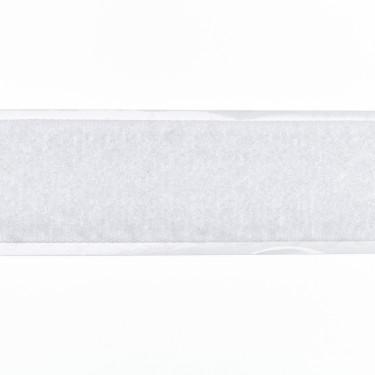 Zelfklevend Klittenband 20 mm lus wit
