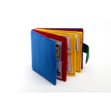 Klittenviltboekje kleuren
