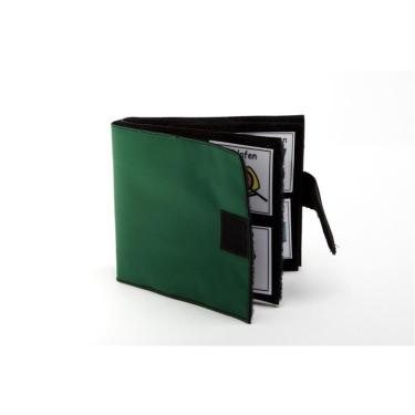 Klittenviltboekje groen