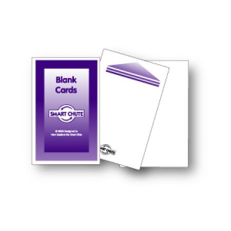 Blanco kaartjes voor Flip Flop kastje