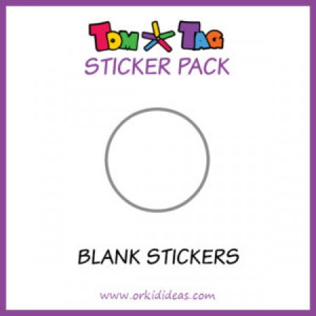 Blanco stickers TomTag
