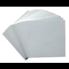 Blanco kaartjes voor de grote dobbelsteen