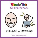 TomTag stickerpakket emoties